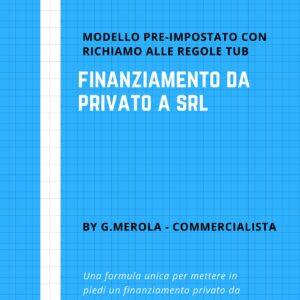 finanziamento contratto mutuo privato a srl